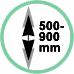 Estensione 50 - 90 cm