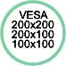 Vesa Max 200x200 200x100 100x100