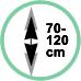 Estensione 70 - 120 cm