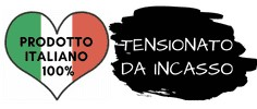 Icona prodotto italiano tensionato da incasso