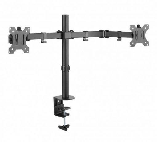 Braccio per monitor in acciaio a doppio snodo FLEXO Desk
