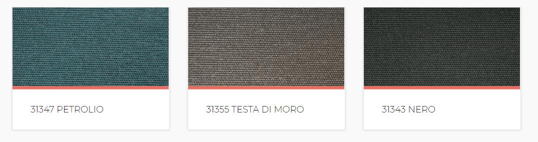 cOLORI TESSUTO TENDE OSCURANTI