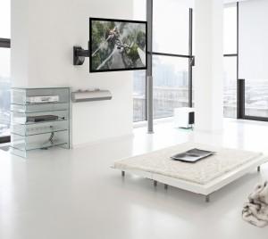 23112 Supporto 3 snodi a parete per TV da 10 a 40″