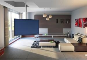 23120-23121 Supporto a soffitto per TV Pallas Extend 90